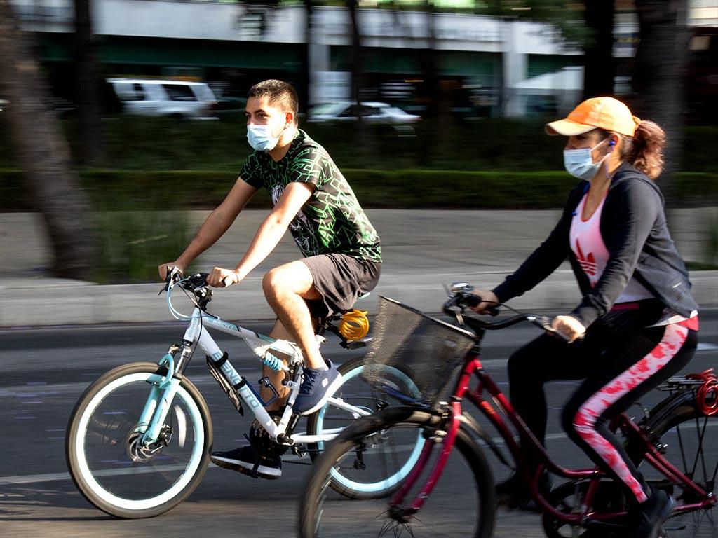 "Amplían ruta del paseo dominical ""Muévete en bici"""