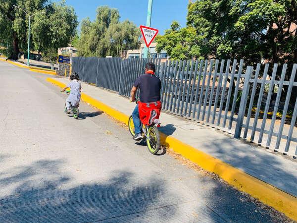 Ciudad Universitaria en bici