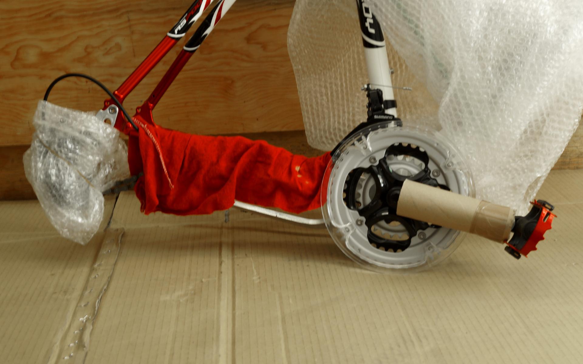 Empaca tu bici