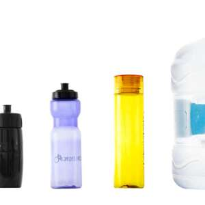 llevar agua en bici